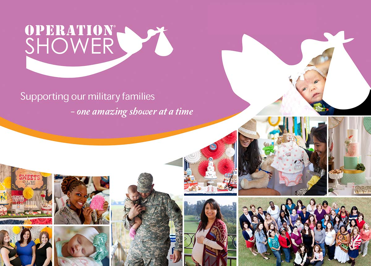 Operation Shower: Supporting our military families one amazing shower at a time